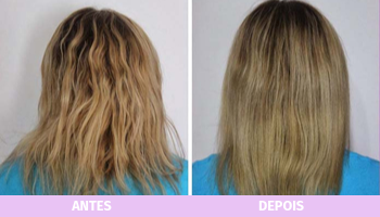 antes e depois da nutrição capilar