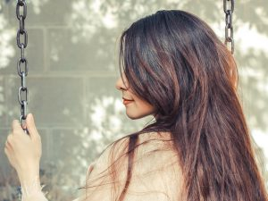 cabelo liso ressecado