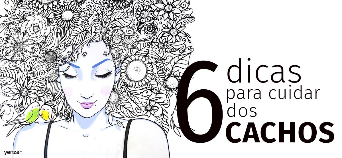 Cuidados com o cabelo cacheado: veja 6 dicas para cuidar do cachos [Infográfico]