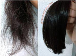resultado cronograma para cabelo danificado