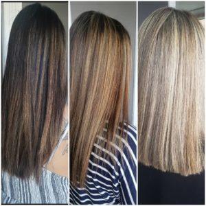 hidratação para cabelo loiro de diferentes tons