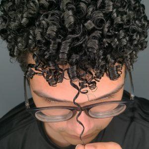 tipo de cabelo ccaheado masculino
