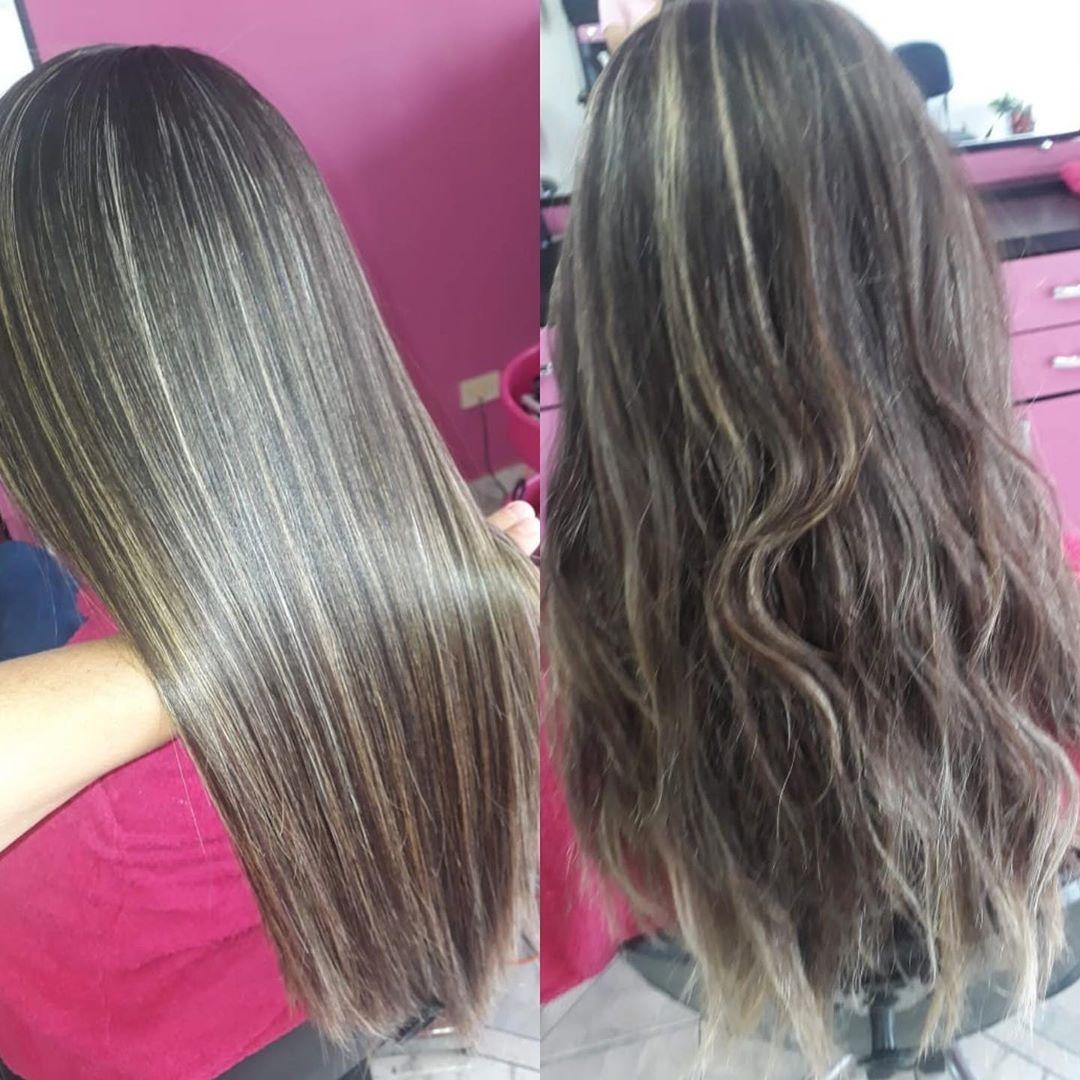 cabelo com progressiva