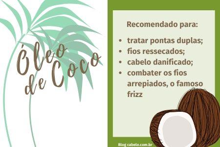 benefícios da hidratação com óleo de coco nos fios