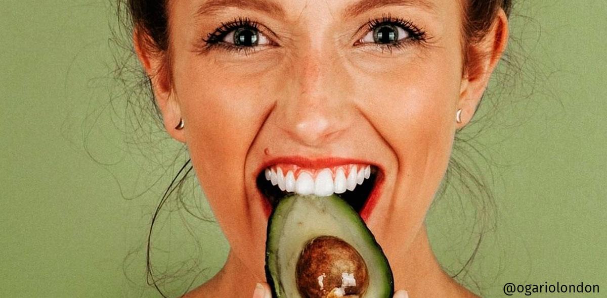 hidratação com abacate