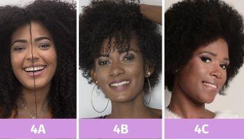como cachear o cabelo tipo 3