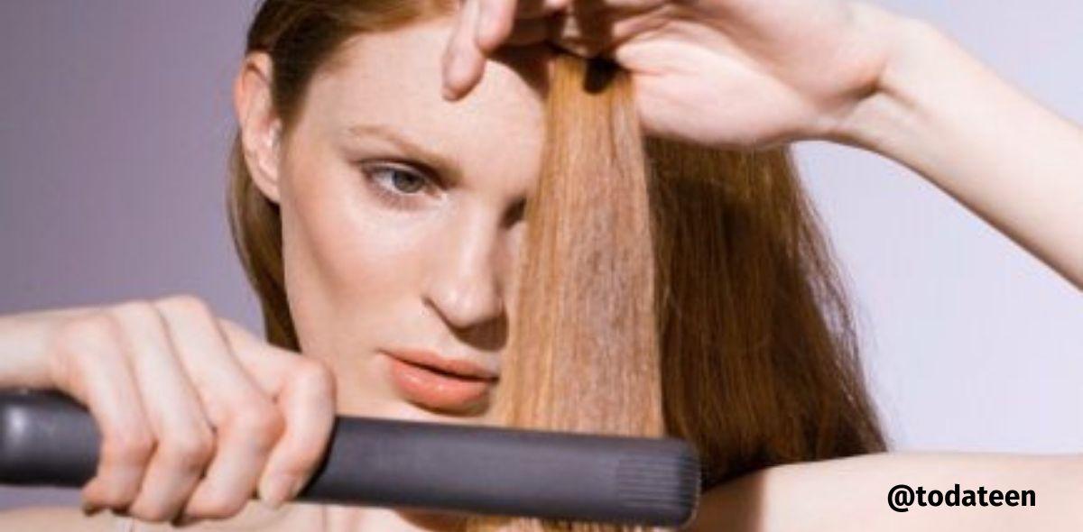protetor térmico para cabelo