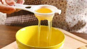 hidratação com óleo de rícino e ovo