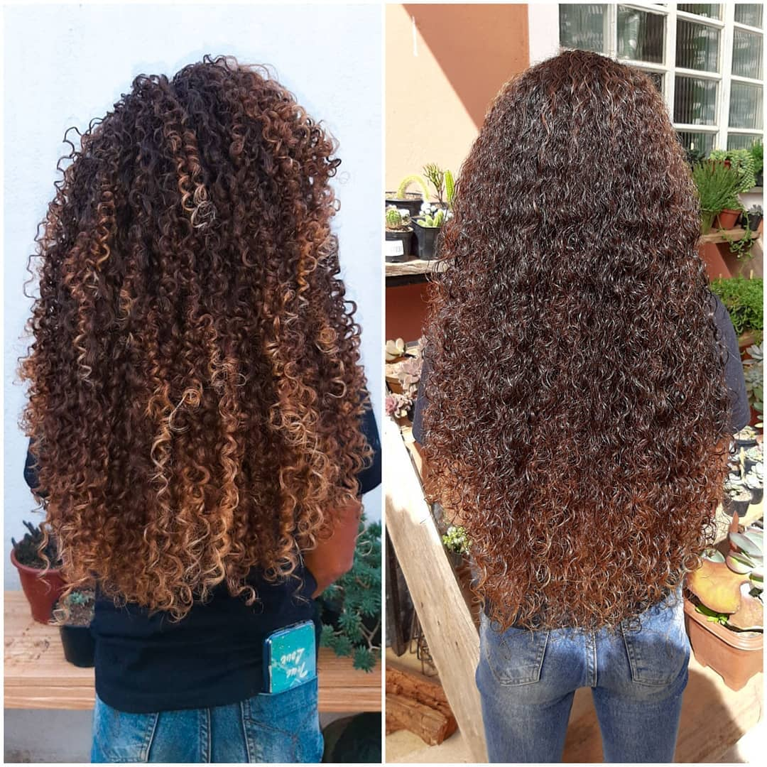 diferença do cabelo com e sem fitagem, como fazer fitagem