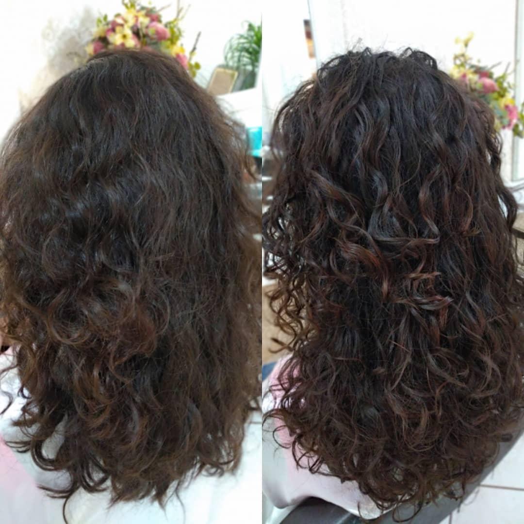 como fazer fitagem em cabelo ondulado