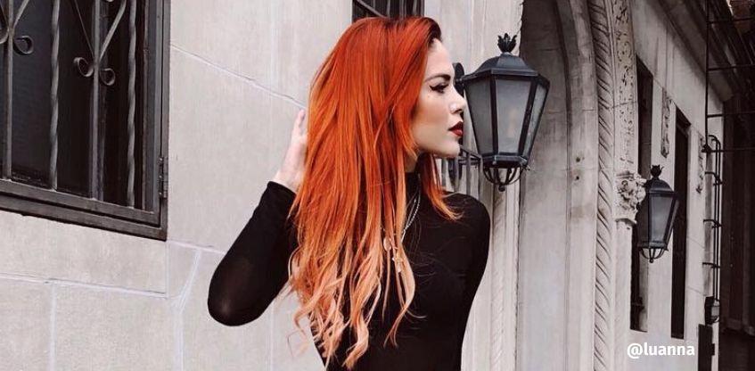 tons de vermelho para cabelo