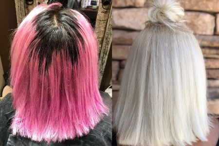 o que é o cabelo platinado