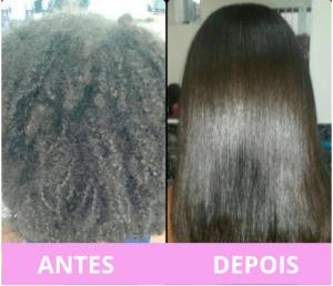 progressiva para cabelos crespos