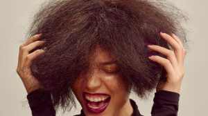 cauterização no cabelo