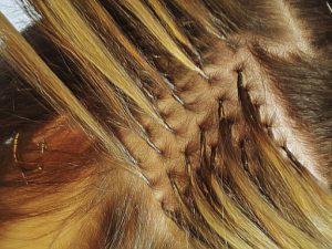 Alongamento de cabelo