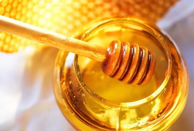 hidratação com mel