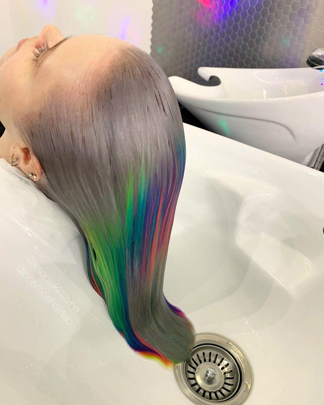 glitch hair
