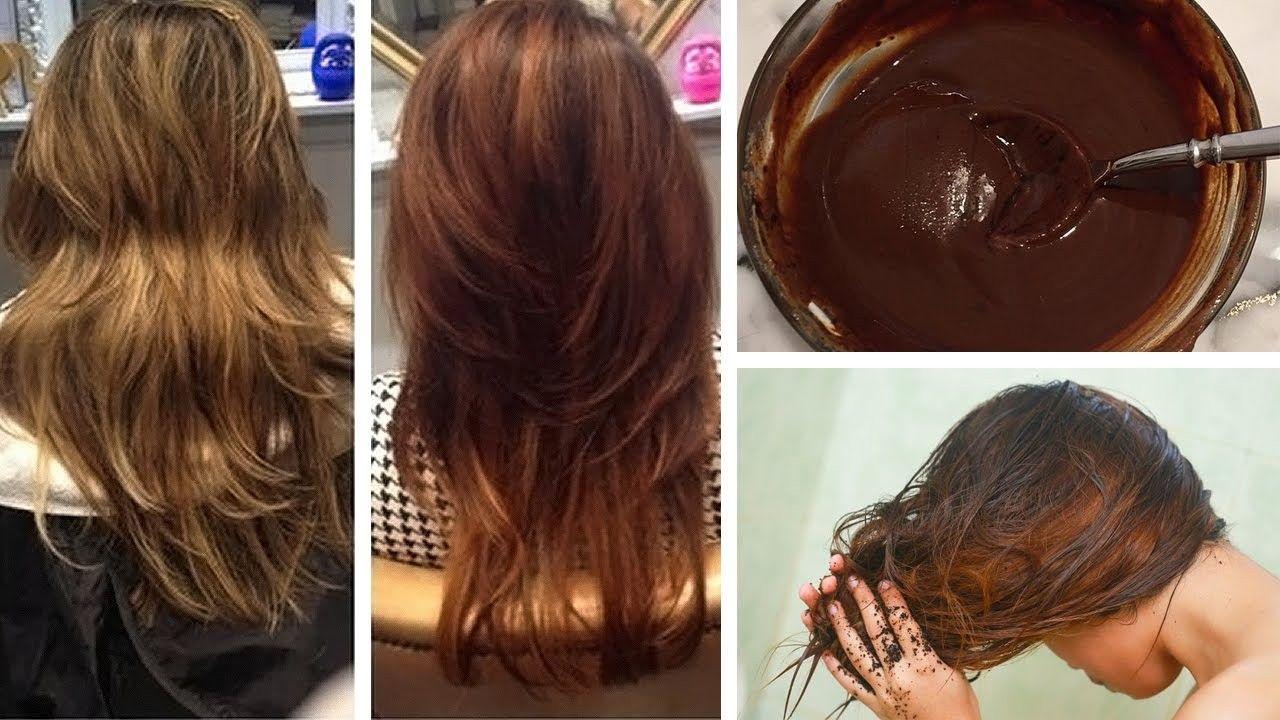como escurecer o cabelo naturalmente com cacau