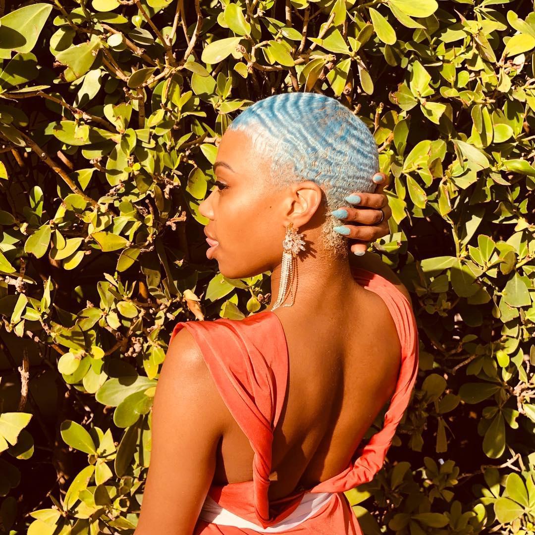penteados para cabelos crespos curtos 360 waves