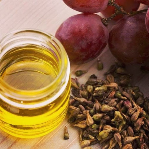 beneficios do óleo de semente de uva