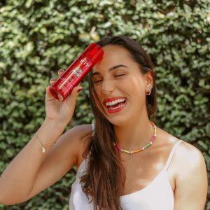 shampoo seco para manter cabelo escovado