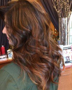 cores de cabelo com base castanho