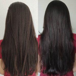 Cronograma capilar para cabelos com progressiva pouco danificados