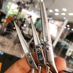 tipos de tesoura de cortar cabelo