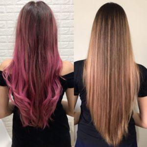 Como tonalizar o cabelo com tonalizante rosa