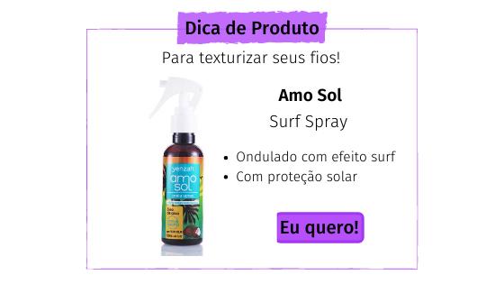 Spray de cabelo texturizador