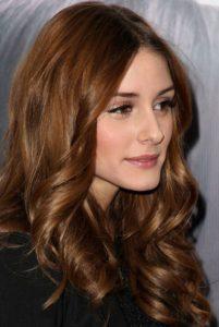 cabelo liso avelã
