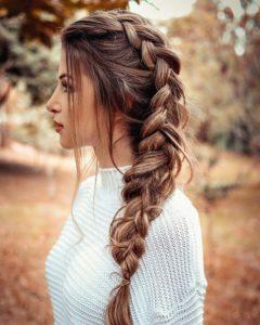 penteado  de princesa elsa
