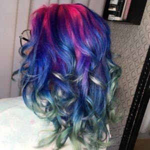 resultado cabelo com anilina