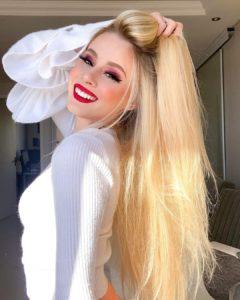 cabelo liso brilhoso