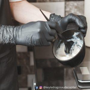 preparação tinta para retoque de cabelo