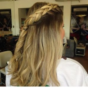 Spray de cabelo para penteados