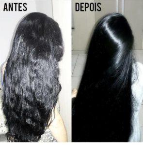 ácido lático no cabelo alisa?