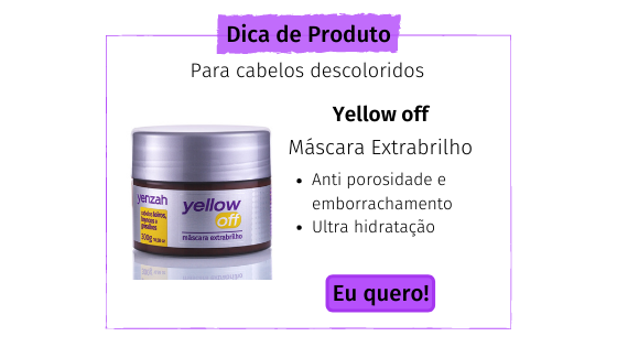 dica de produto para cuidar do cabelo loiro natural