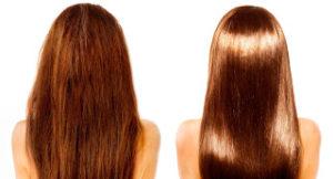 antes e depois do selante capilar