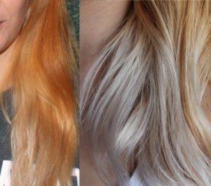 receita de como neutralizar o laranja do cabelo