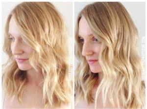 como usar óleo no cabelo descolorido